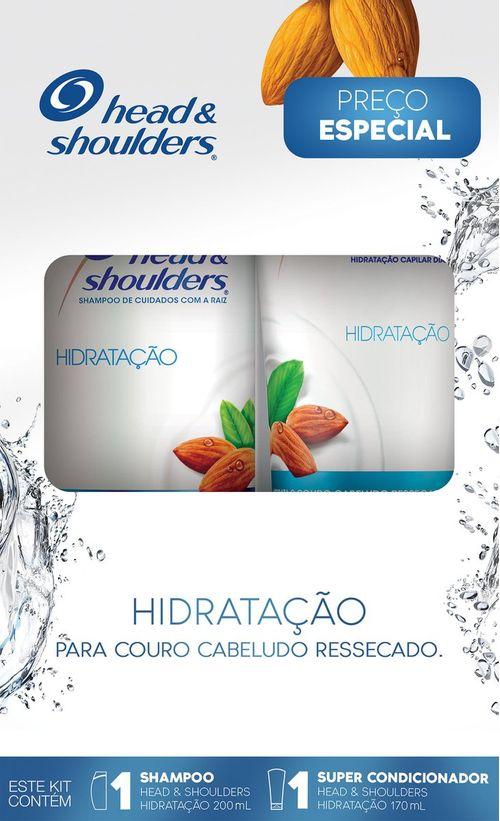 Shampoo Cuidados Com A Raiz Head & Shoulders Detox 200ml + Super Condicionador 170ml