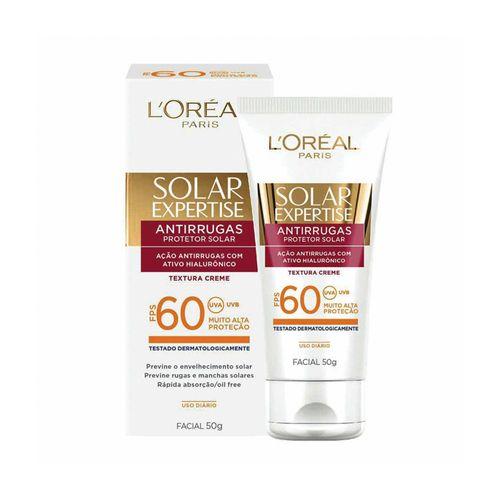 Protetor Facial Solar Expertise Antirrugas Fps 60 50g