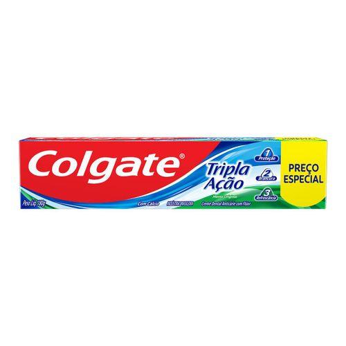 Creme Dental Colgate Tripla Ação Leve 180 Pague 140g