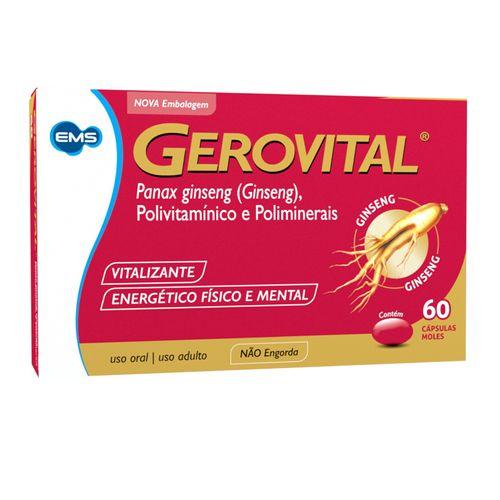 Gerovital Com 60 Cápsulas