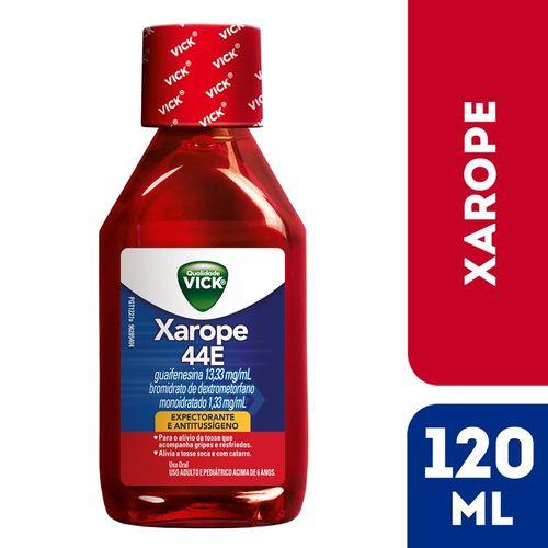 Xarope para tosse Vick 44E 120ml
