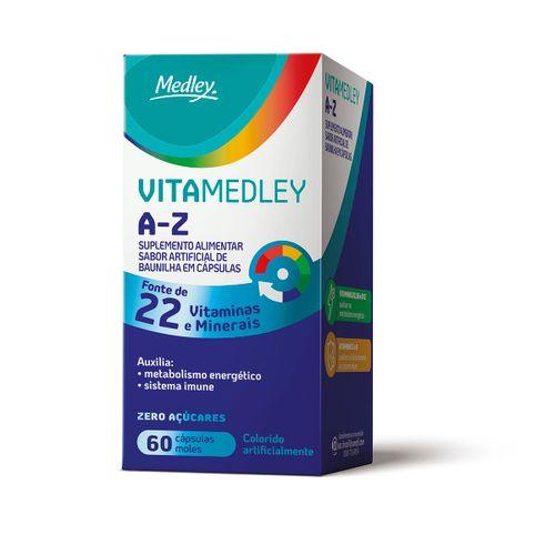 Vitamedley A-Z Com 60 Cápsulas