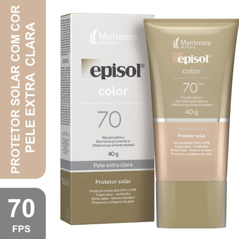 Protetor-Solar-Episol-Color-Extra-Clara-Fps70-40g-Pague-Menos-51088-1