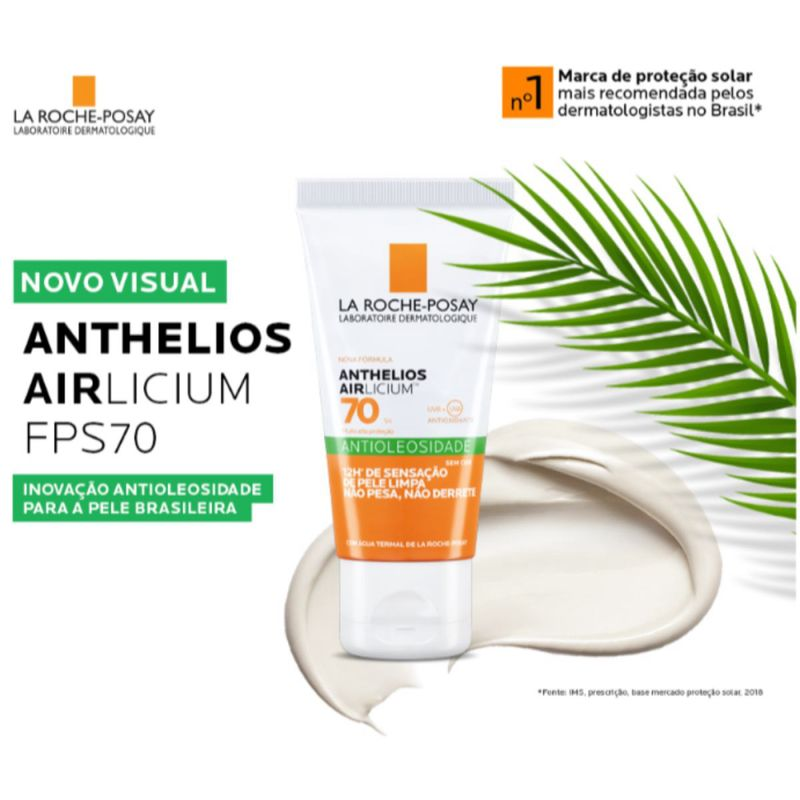 Protetor-Solar-Facial-Antioleosidade-La-Roche-Posay-Anthelios-Airlicium-Fps70-50g-Pague-Menos-45602-3