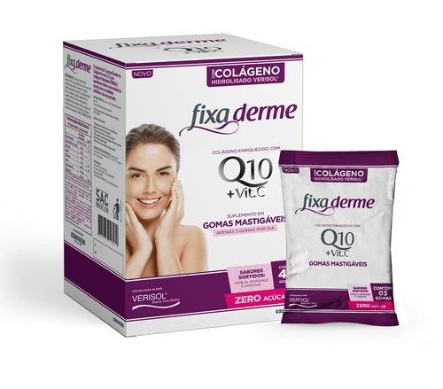 Colágeno Fixa Derme - Gomas Mastigáveis