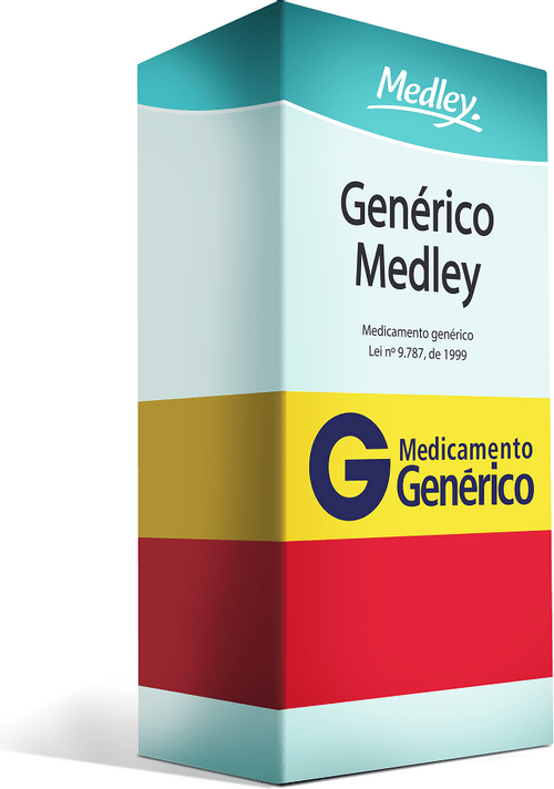 Pantoprazol 40mg Com 42 Comprimidos Genérico Medley