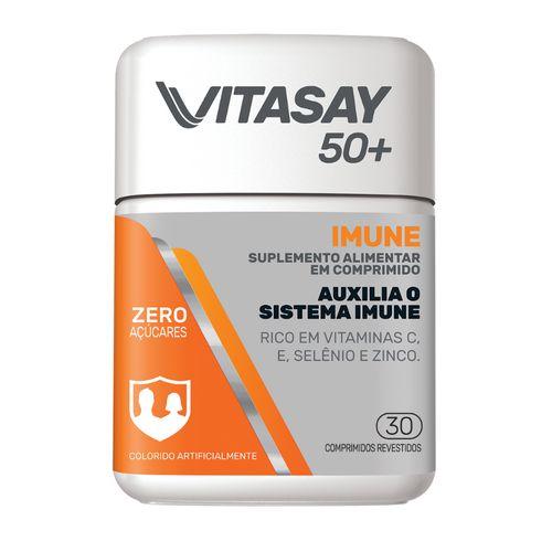 Suplemento Vitamínico Vitasay 50+ Imune Vitamina C 30 Comprimidos