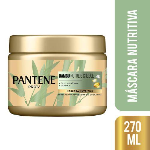 Máscara Para Tratamento Pantene Bambu 270ml