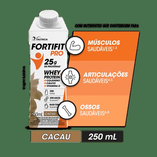 FORTIFIT PRO Bebida Láctea Cacau 250mL
