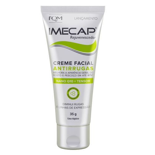 Imecap Rejuvenescedor Creme Facial Antirrugas 35g