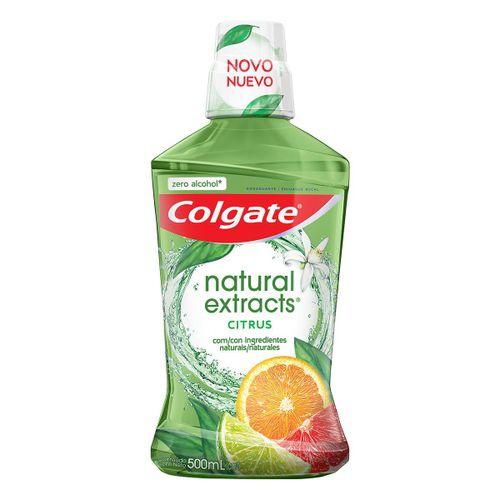 Enxaguante Bucal Colgate Natural Extracts Citrus 500ml