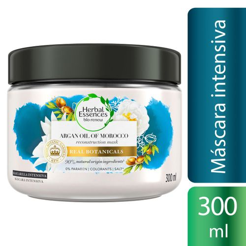 Máscara Para Tratamento Capilar Herbal Essences Óleo De Argan 300ml