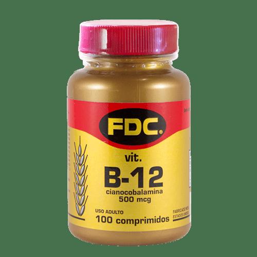 Complexo B12 500mcg Com 100 Comprimidos Fdc