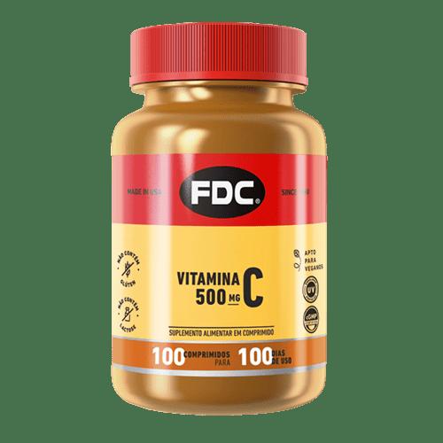 Fdc Vitamina C 500mg Film Coated Com 100 Comprimidos