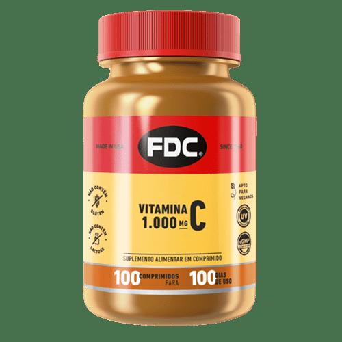 Vitamina C 1000mg Film Coated Com 100 Comprimidos Fdc