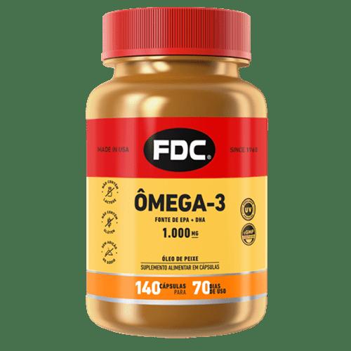 Omega 3 Epa 1000mg Com 140 Comprimidos Fdc