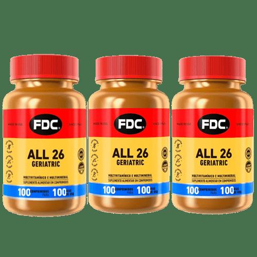 Kit All 26 Geriatric Com 100 Comprimidos Cada Leve 3 Pague 2 Fdc