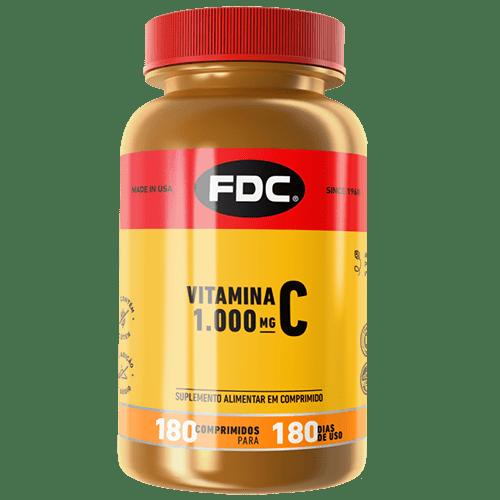 Vitamina C 1000mg Com 180 Comprimidos Fdc