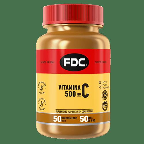 Vitamina C 500mg Com 50 Comprimidos Fdc