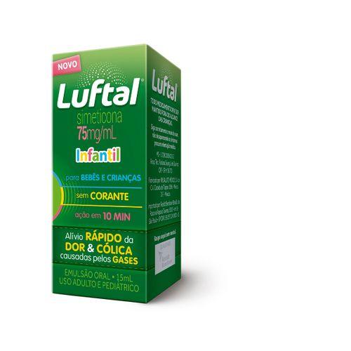 Luftal Infantil Sem Corante Gotas 15ml