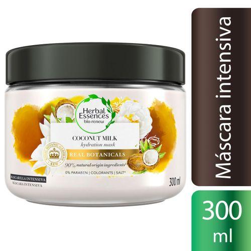 Máscara Intensiva Herbal Essences Bio Renew Hidratação com Leite de Coco 300 ml