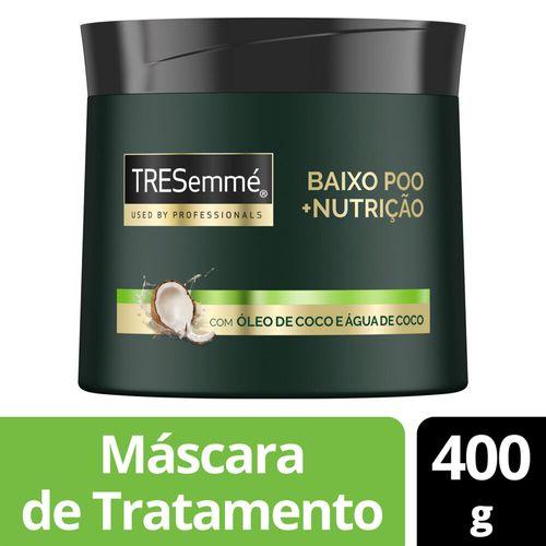 Máscara de Tratamento TRESemmé Baixo Poo +Nutrição 400g