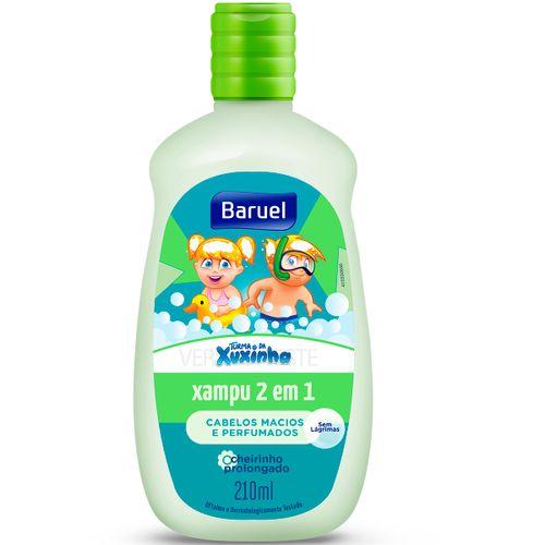 Shampoo Turma Da Xuxinha 2 Em 1 Cabelos Macios E Perfumados Infantil 210ml