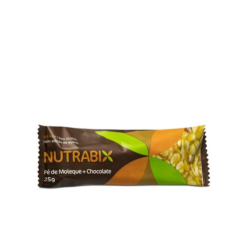 Nutrabix Pe De Moleque + Chocolate Sem Acucar 25g