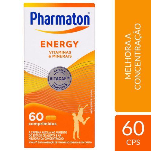 Multivitamínico Pharmaton Energy 60 cápsulas