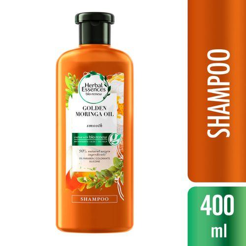 Shampoo Herbal Essences Bio:Renew Golden Óleo de Moringa 400ml