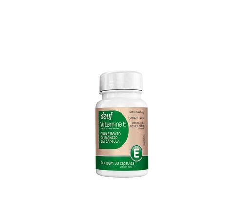 Vitamina E Com 30 Capsulas Dauf