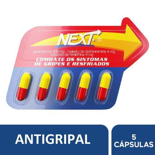Antigripal Next 5 Cápsulas