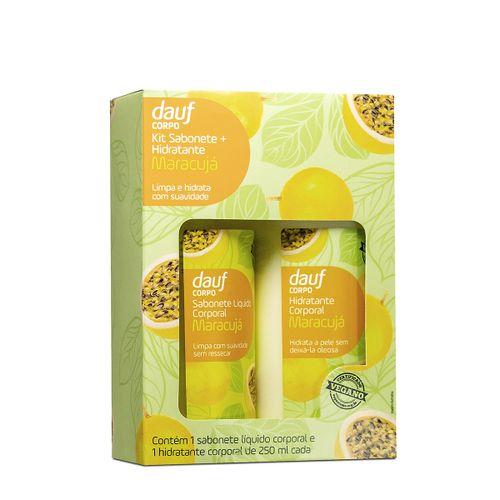 Sabonete Dauf Maracujá Vegano 250ml+hidratante 250ml