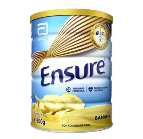 Suplemento Adulto Ensure Pó Sabor Banana 900g