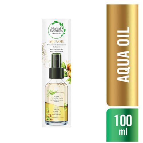 Aqua Oil Herbal Essences Aloe & Antioxidante Com Óleo De Argan 100ml