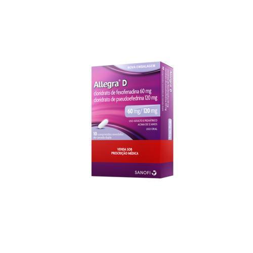 Antialérgico Allegra D 10 comprimidos