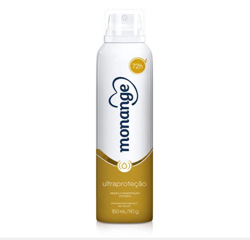Desodorante Monange Protect Oil 72h Aerossol 90g