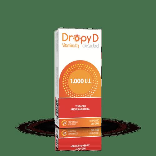 Dropy D 1.000ui Com 30 Comprimidos