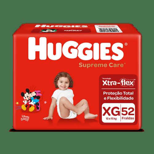 Fralda Huggies Supreme Care Hiper Tamanho Xg Com 52 Unidades