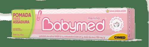 Babymed Rosa Pomada 45g