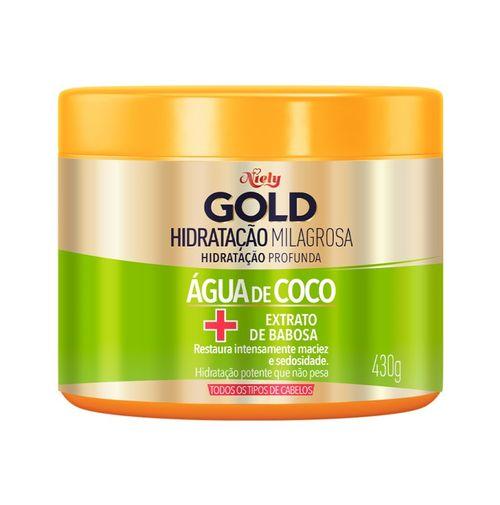 Hidratação Niely Gold Hidratação Milagrosa, 430g