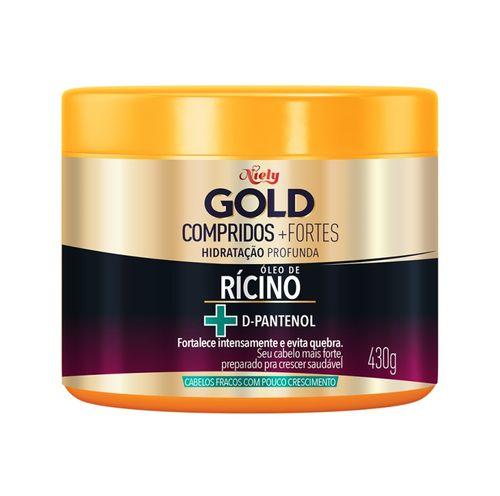 Hidratação Niely Gold Compridos e Fortes, 430g