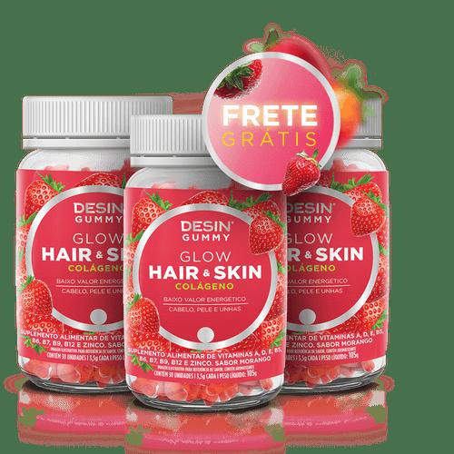 Desin Gummy Hair Skin Glow