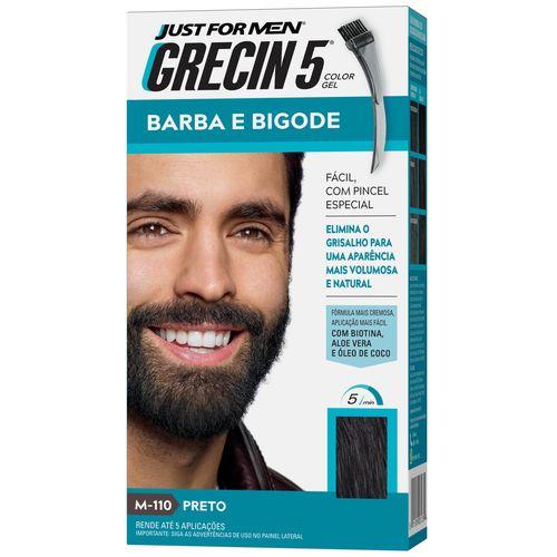 Barba E Bigode Grecin 5 Preto
