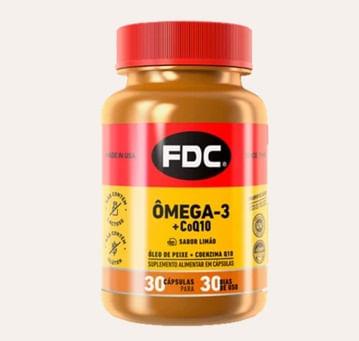 Omega 3 Coq10 Fdc Com 30 Capsulas