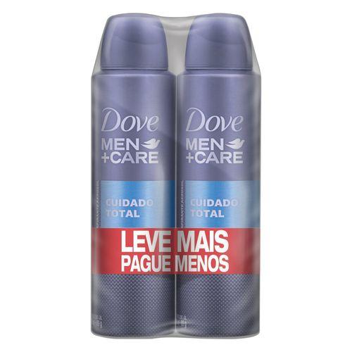 Oferta Desodorante Antitranspirante Aerosol Dove Men+Care Cuidado Total 2 x 150ML