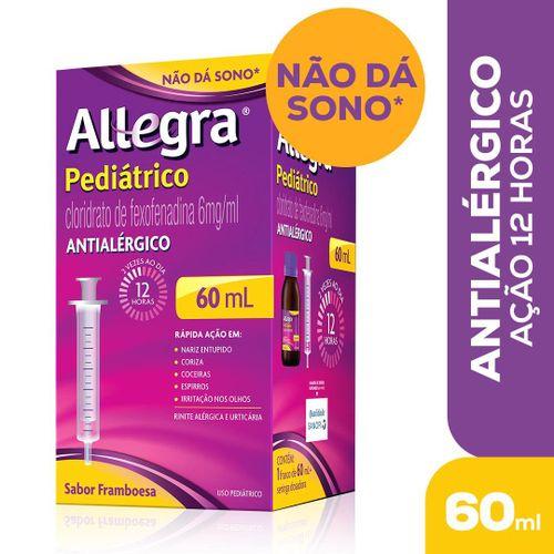 Antialérgico Allegra Pediátrico 6mg/ml 60 ml