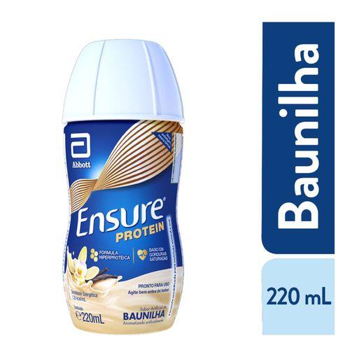 Suplemento Adulto Ensure Protein Sabor Baunilha 220ml